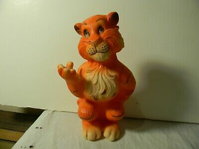 1960'S Humble Oil Esso Exxon Tiger Advertising Character Bank Near Mint