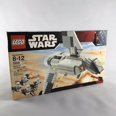 Lego Star Wars #7659  Imperial Landing Craft New Sealed