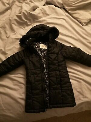 French Connection Girls Puffer Coat 2-3 Years designer fashion FCUK