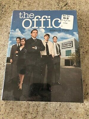 The Office - Season Four (DVD, 2008, 4-Disc Set) New and Sealed!
