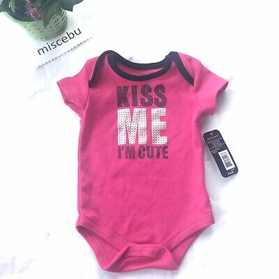 Kiss Me I/'m Irish Baby Grow Vest Funny St Patrick/'s Day Paddy New Born Gift EP26