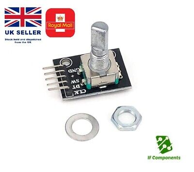 Rotary Encoder KY-040 Module for use with Arduino,Raspberry Pi, PIC, ATMEL, FPGA