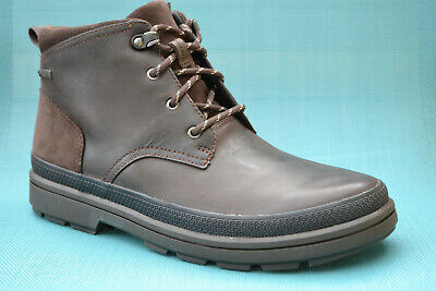 Clarks Rushway Mid Gtx Chaussures Hommes Gore-Tex Boots Bottes British Tan 26135554