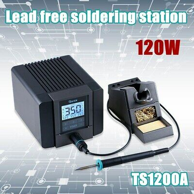 FAST TS1200A 120W LCD Touch Display Soldering Station For Phone BGA Desoldering