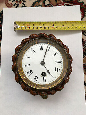 Lovely Small Carved Wall Clock Project