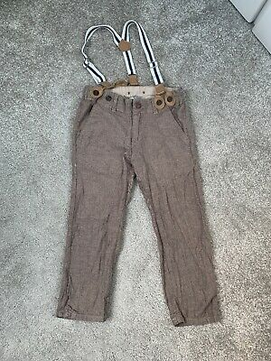 Lindex Boys Trousers With Braces 2-3yrs
