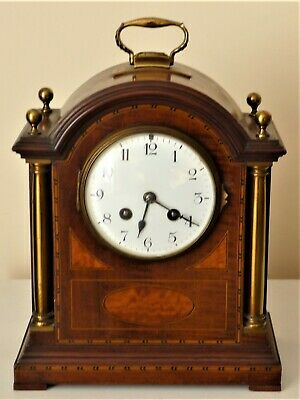 Antique Mantel Clock Fully Working With Strike 7 Samuel Marti Movement