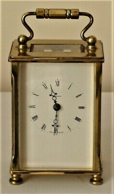 Vintage Brass Cased Carriage Clock