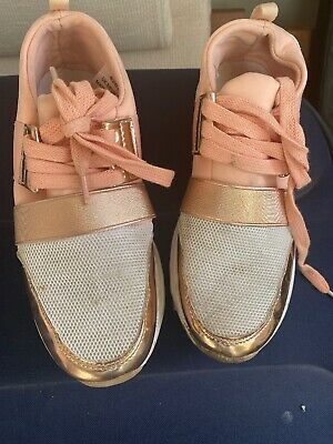 Girls River Island Trainers Size 3