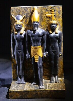 Ancient Egyptian Statue of Three Gods - Excellent Condition