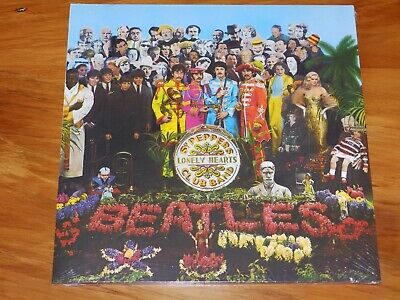 Beatles Sgt Peppers Lonely Hearts Club Band 2016 180g Vinyl LP New Sealed 180gm