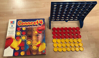 Connect 4 Game, Hasbro MB Games, The Classic Game Of Counter Strategy, 6+