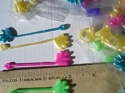 """576 MINI STICKY HANDS VENDING 3/"""" REDEMPTION GREAT FOR PARTIES CARNIVALS"""