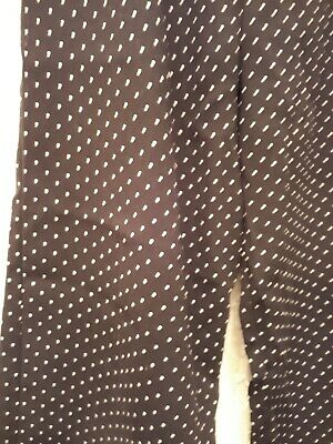 River Island Girls Age 5/6 Years Black Small White Dots Flare Trousers