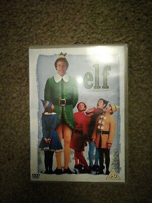 Elf (DVD, 2005) 2 Disc Edition Will Ferrell James Caan Christmas Comedy Film