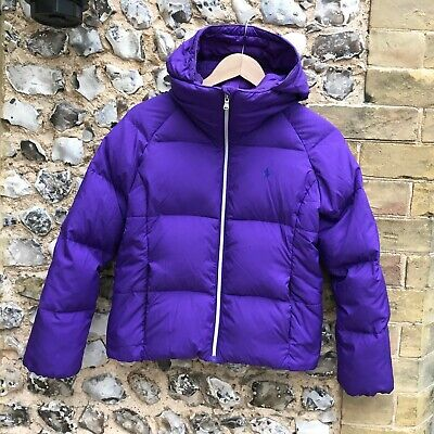 Kids Ralph Lauren Duck Feather Down Puffa Jacket Age 12 13 14 Girls Teen Coat