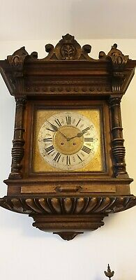 Vienna wall clock for restoration