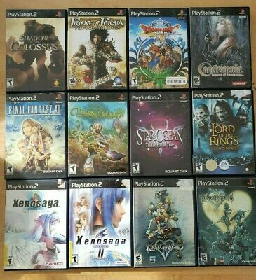 PS2 Game Lot - Pick and Choose