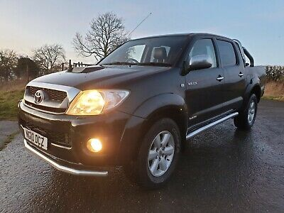 2010 Toyota Hilux Invincible 3.0Td Pickup Twin Cab - 11 Months Mot- 136K Leather