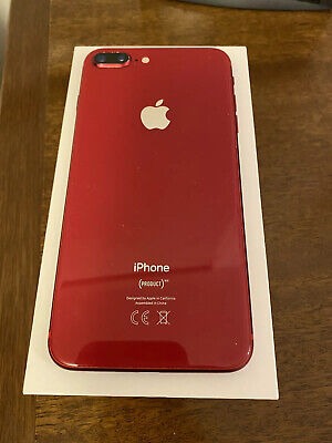 Apple iPhone 8 Plus (PRODUCT)RED - 64GB - (Unlocked) A1897 (GSM). Used.