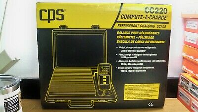 New Cps Cc220 Refigerant Charging Scale 220Lb Lcd Readout Free Priroity S&H