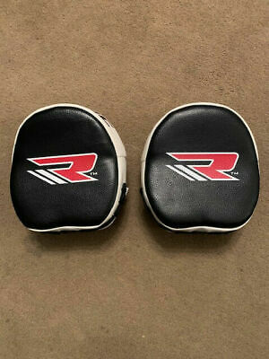 RDX T1 Genie Smartie Punch Mitts Hook and Jab Boxing Kick Thai Gloves Muay Curv