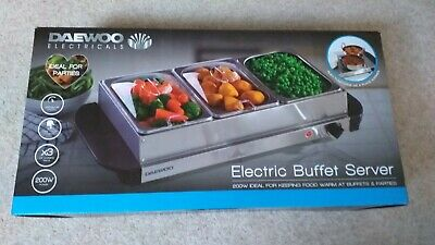 New & Unused – Daewoo Electricals – Electric Buffet Server – Model SDA1412