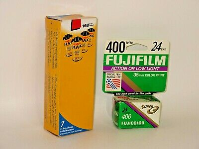 Kodak Max Fujifilm 400 Speed Color Film 8 Rolls x 24 EXP 35 MM Expired 10/2002