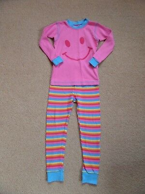 FABULOUS Girl's 100% ORGANIC COTTON Pyjama Set by KIRKLAND Age 6 From USA