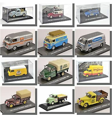 French, Italian, European Trucks, Cars, Vans. 1/43 Scale