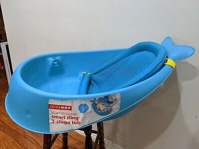 Baby Bath - Skip Hop Whale Tub - Immaculate Condition