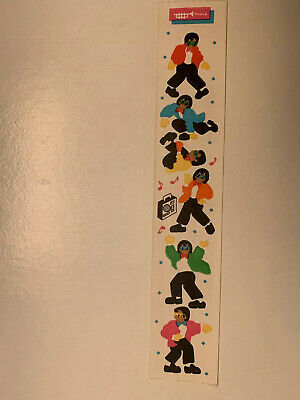 Rare Vintage Stickers - Cardesign - Toots Break Dancing Dated 1984