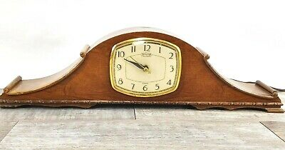 Vintage E. Ingraham Mantle Montclair Chiming Electric Clock Model SST6 Working