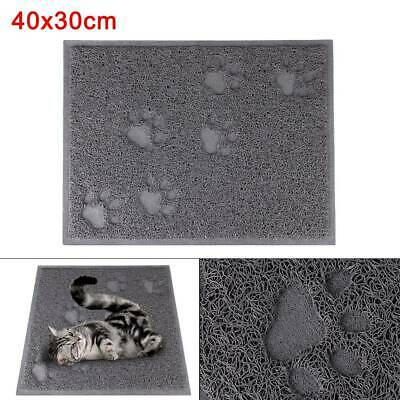 40x30cm Cat Litter Tray Mat Clean Floor Pet Box Pan hooded litter mat Rectangle
