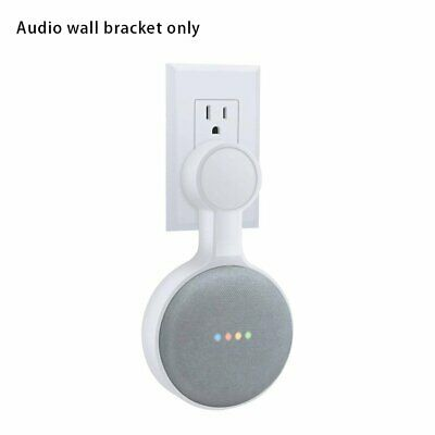 Wall Mount Holder For Google Home Mini With Cord Arrangement Hidden Wires AZ