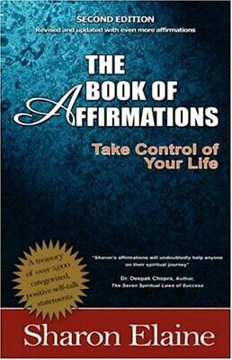 The Book of Affirmations by Elaine A. Q., Sharon Paperback Book The Cheap Fast