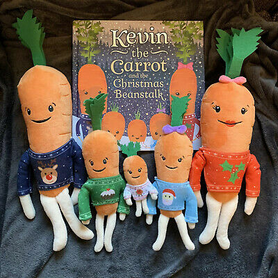 Kevin The Carrot Family And Book 2018