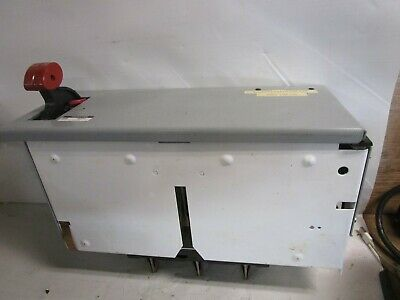 "Ge 8000 Series 100 Amp 6"" Half Feeder Bucket Sela36At0100 W 70A Plug Sela36At010"