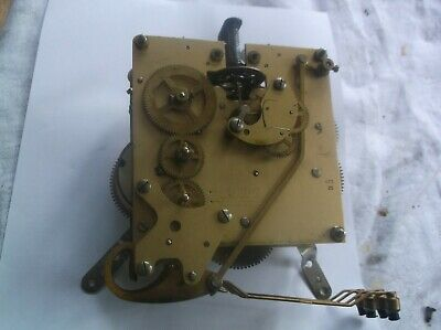 Smiths 4 Hammer 4X4 Mechanism  From An Old  Mantle Clock Working Order Ref V9