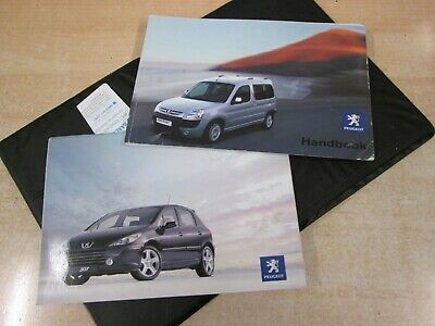 Peugeot Partner  Owners Manual - Owners Guide - Handbook 2002-2007