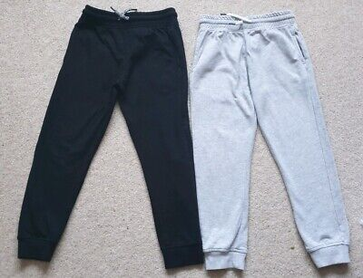 Boys Next Joggers 5-6 Black and Grey in VGC