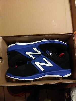 New Balance Low-Cut 3000v3 Metal Baseball Cleat Men Shoe Black with Blue Size 16