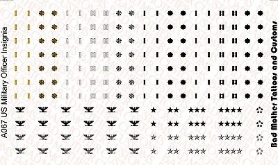 Navy U.S.N Waterslide Decals for Action Figures and Vehicles Small Scale U.S