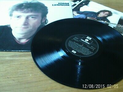 The John Lennon Collection - 1982 Parlophone vinyl lp - with inner/ lyric sheet