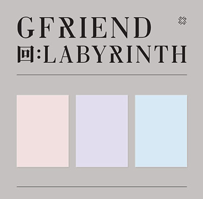 """GFRIEND New Album """" 回:LABYRINTH """" Official Twisted Ver - 1 Photobook + 1 CD"""