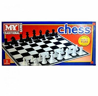 My Traditional Games Plastic Chess Board Game