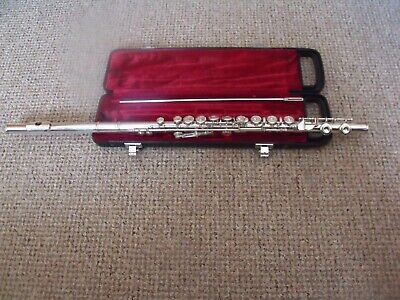 Yamaha YFL 311 Flute - Solid Silver Head Joint - Used Condition