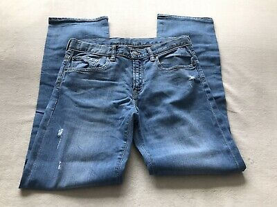 Gap Boys Blue Denim Jeans Size 14 Years Regular Straight Leg Immaculate Unworn