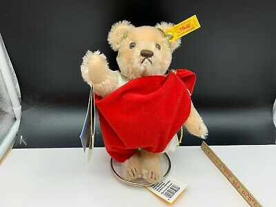 Steiff Tier Teddy Bär 650628 Titus Julius Saturninus 22 cm. Top Zustand