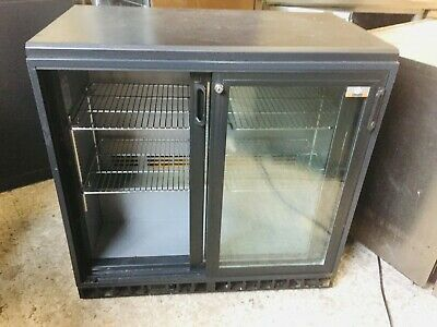 Gamko 2 Door Under Counter Drinks Display / Bar Chiller/ Cooler/ Fridge